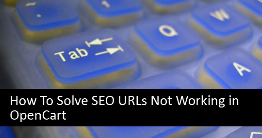 How To Solve SEO URLs Not Working in OpenCart