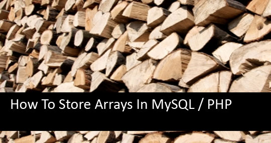 Array to string php serialize and unserialize