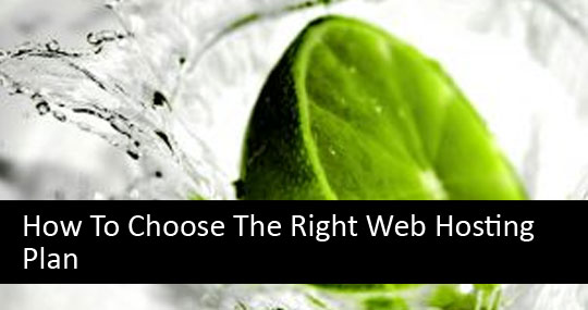 How To Choose The Right Web Hosting Plan